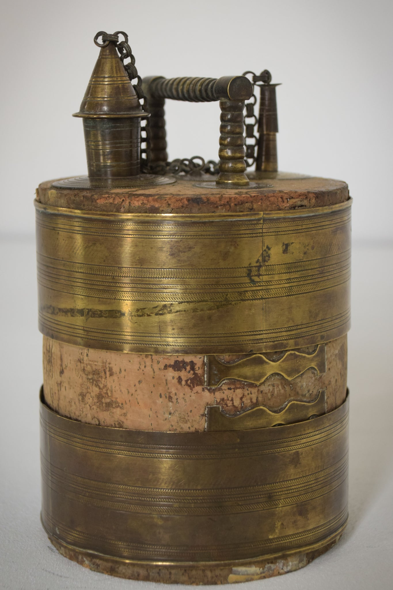 Antique Olive or Wine Barrel