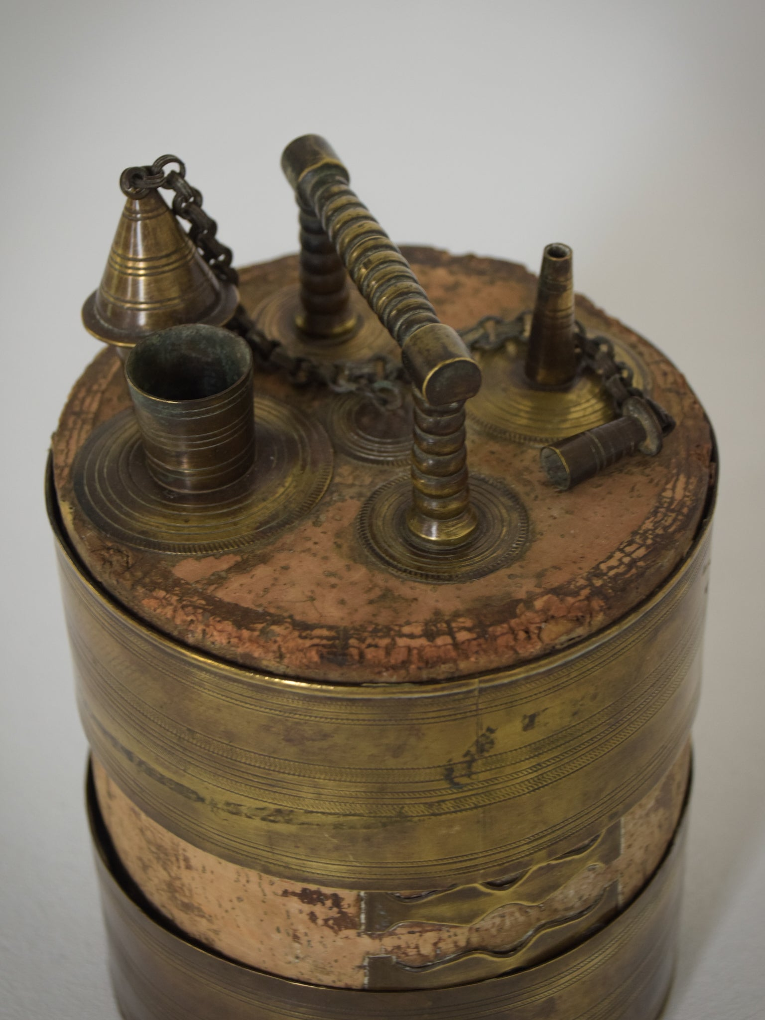 Antique Olive or Wine Barrel_3