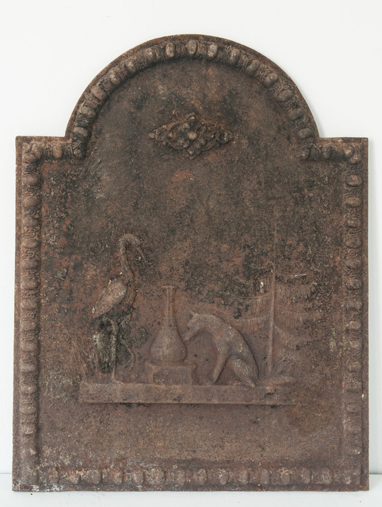Iron Plaque with a Roman Design