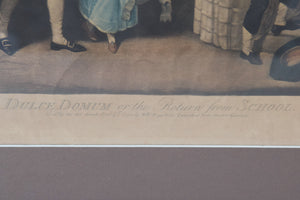 Large Frame with an 18th-century Engraving by John Jones_Detail