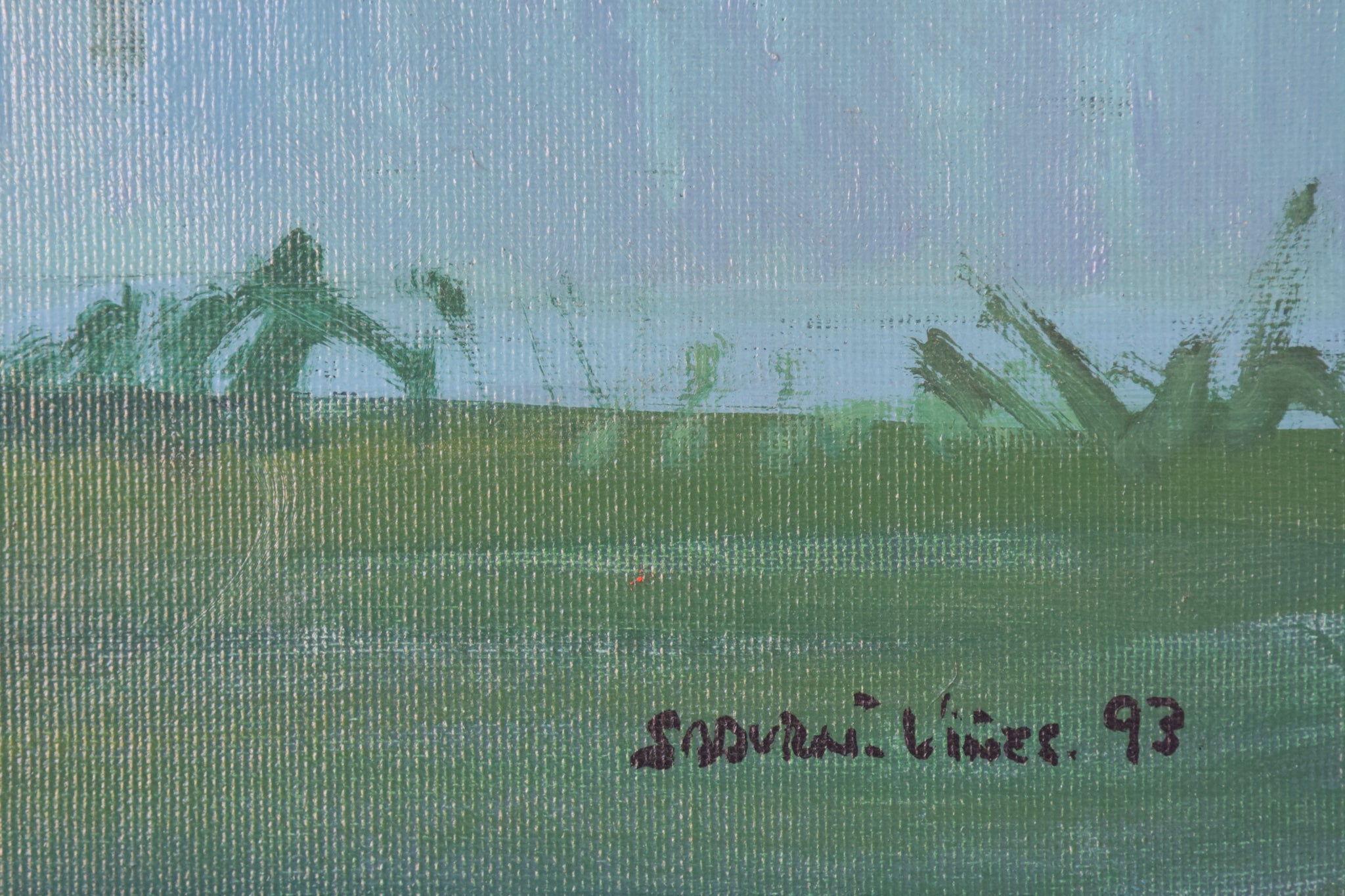Reflections on the River - Landscape Painting_Signature
