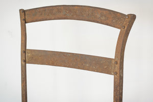 Elegant Antique Pair of French Folding Chairs_Backrest