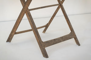 Elegant Antique Pair of French Folding Chairs_Detail