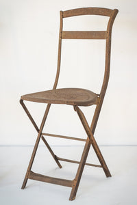 Elegant Antique Pair of French Folding Chairs_2