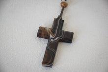 Load image into Gallery viewer, Rosary with Lacquer Cross and Beads_Cross
