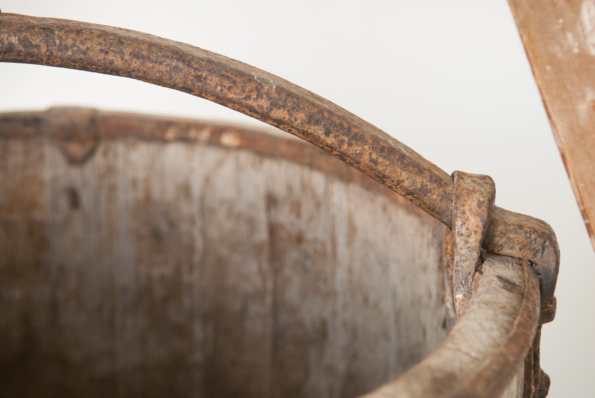 Vintage Well Bucket_Detail 2