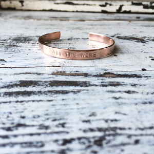 copper cuffs