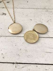 prayer locket