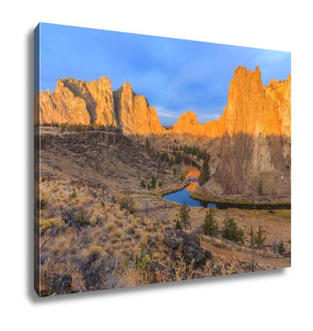 Gallery Wrapped Canvas, Central Park Smith Rock State Park