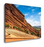 Gallery Wrapped Canvas, Red Rocks Amphitheater