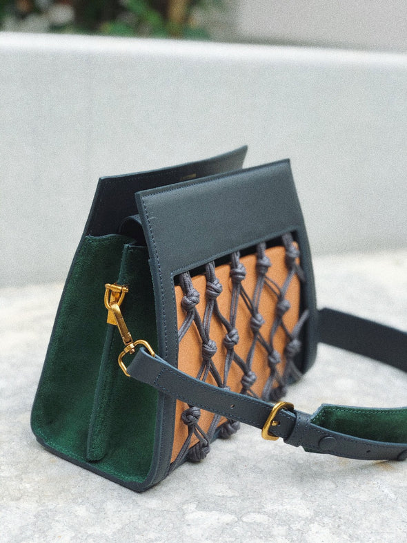 AMU BAG - GREY GREEN