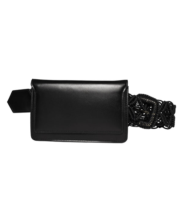 FLOUSÉ BELT BAG - BLACK