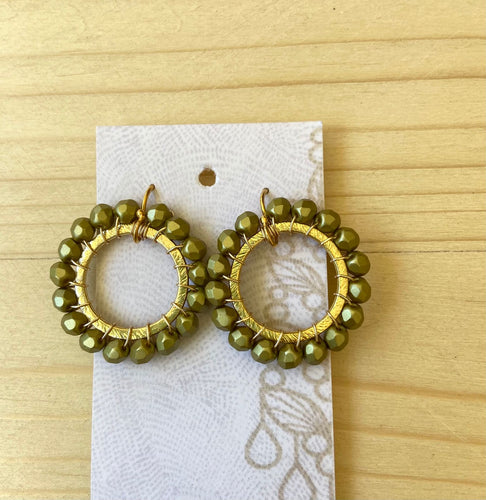 Fawn Gold Hoops