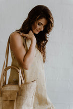 Load image into Gallery viewer, Maia Weave & Hazelnut Leather Bag