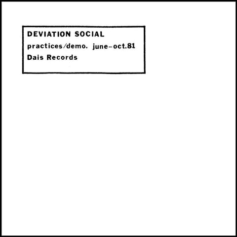 Practices/Demo. June-Oct. 81 LP