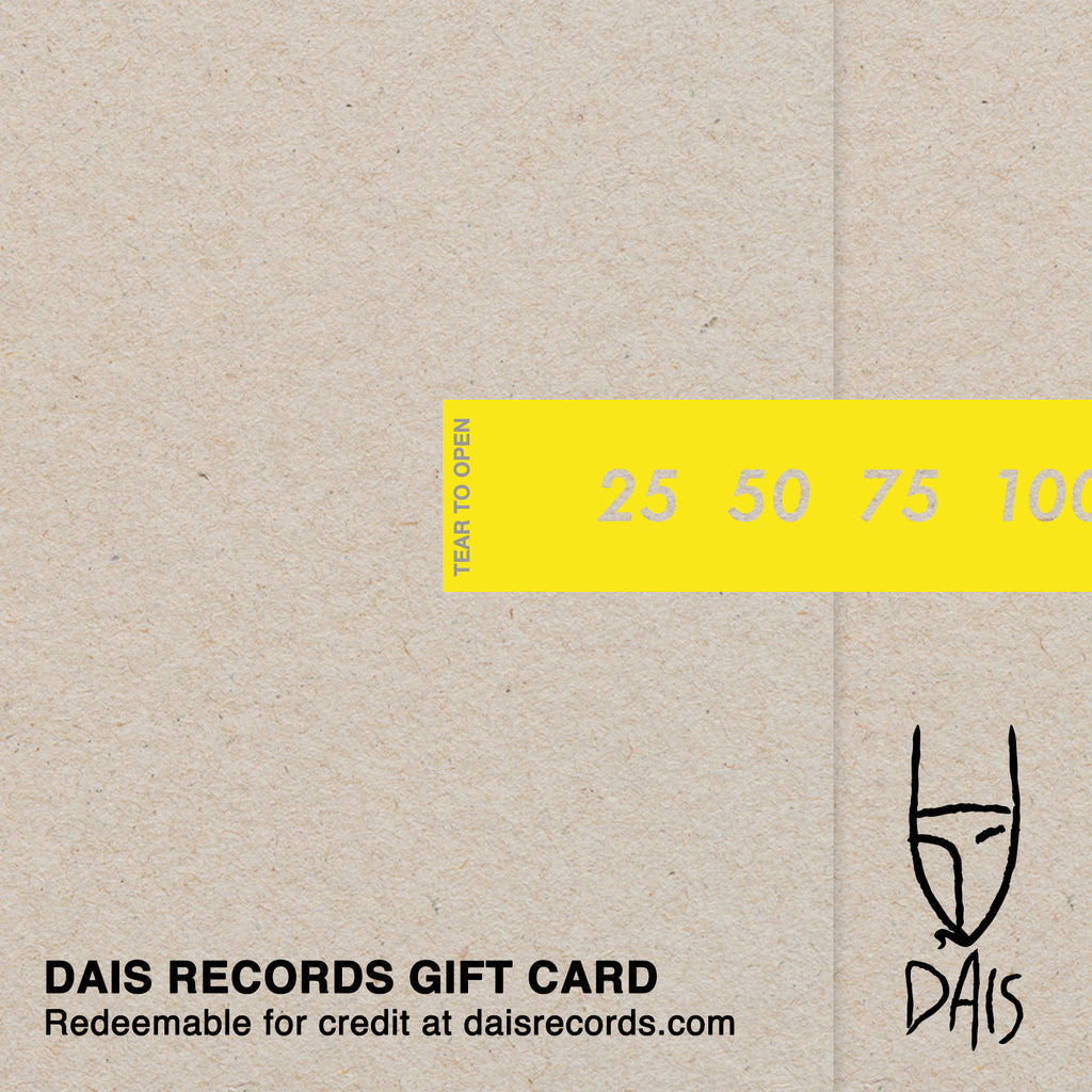 Dais Records Gift Card