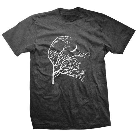 Flowing Branches Moon T-Shirt