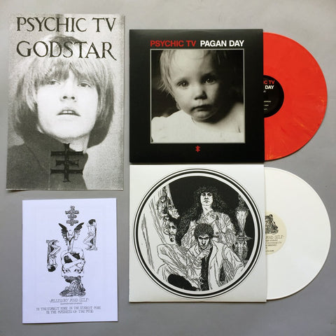 Bundle: Allegory and Self & Pagan Day colored vinyl LP + Print