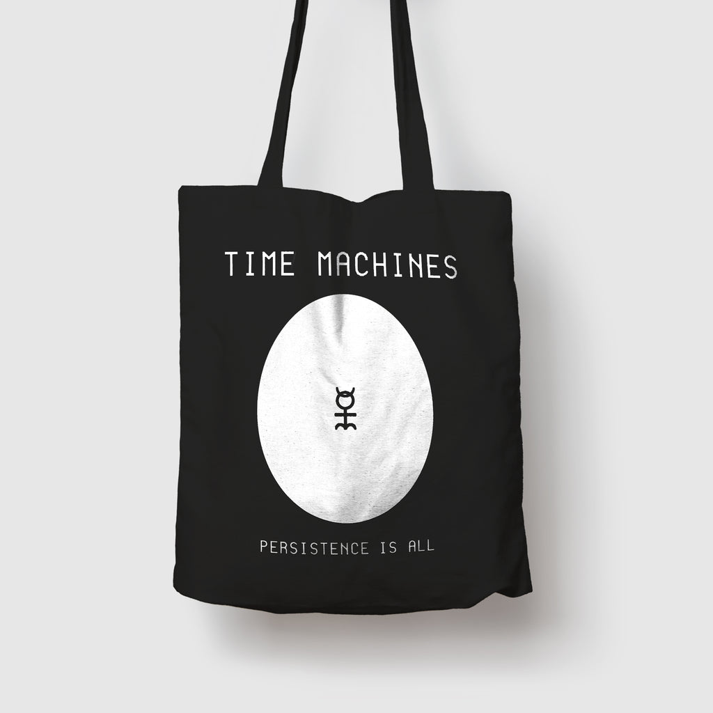 "<span class=""preorder"">Preorder</span>Time Machines Tote Bag"