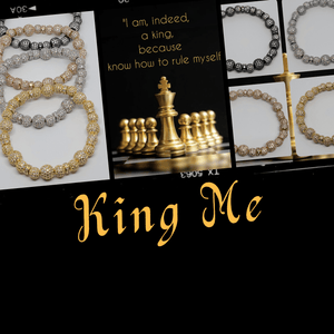 King Me - Iced Adornments