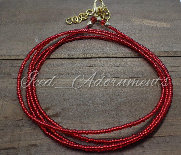 Red Blaze - Iced Adornments