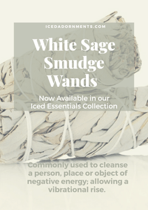 "White Sage Smudge Wands-4"" - Iced Adornments"
