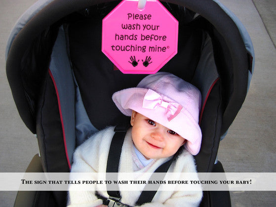 Hang on strollers, car seats, infant carriers