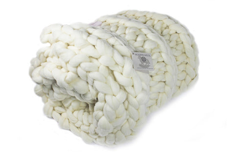Chunky Knit Throw- Large