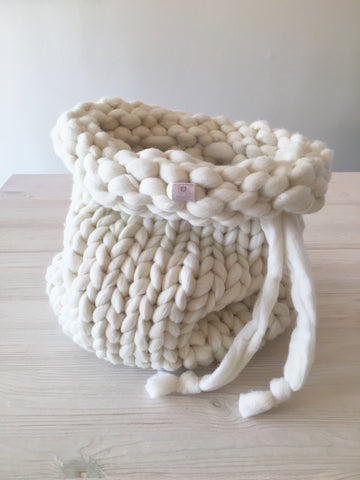 Knitted Wool Bag (16