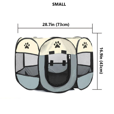 Snoozify™ Pet Playpen