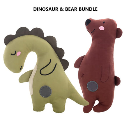 Squeaky Plush Dog Toys - Forest Series
