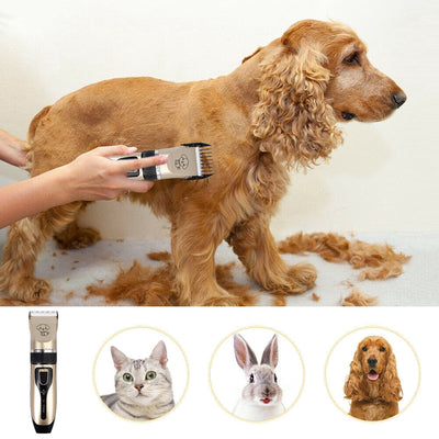 Professional Silent Pet Hair Trimmer