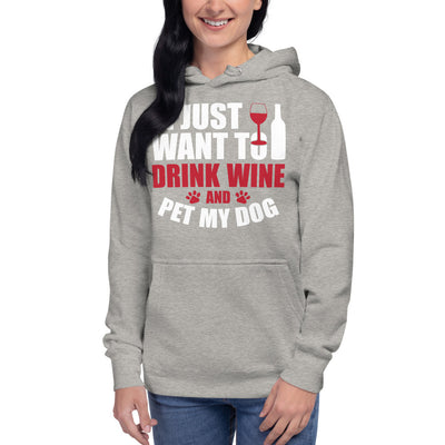 Drink And Pet Unisex Hoodie