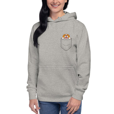 Beagle In A Pocket Unisex Hoodie