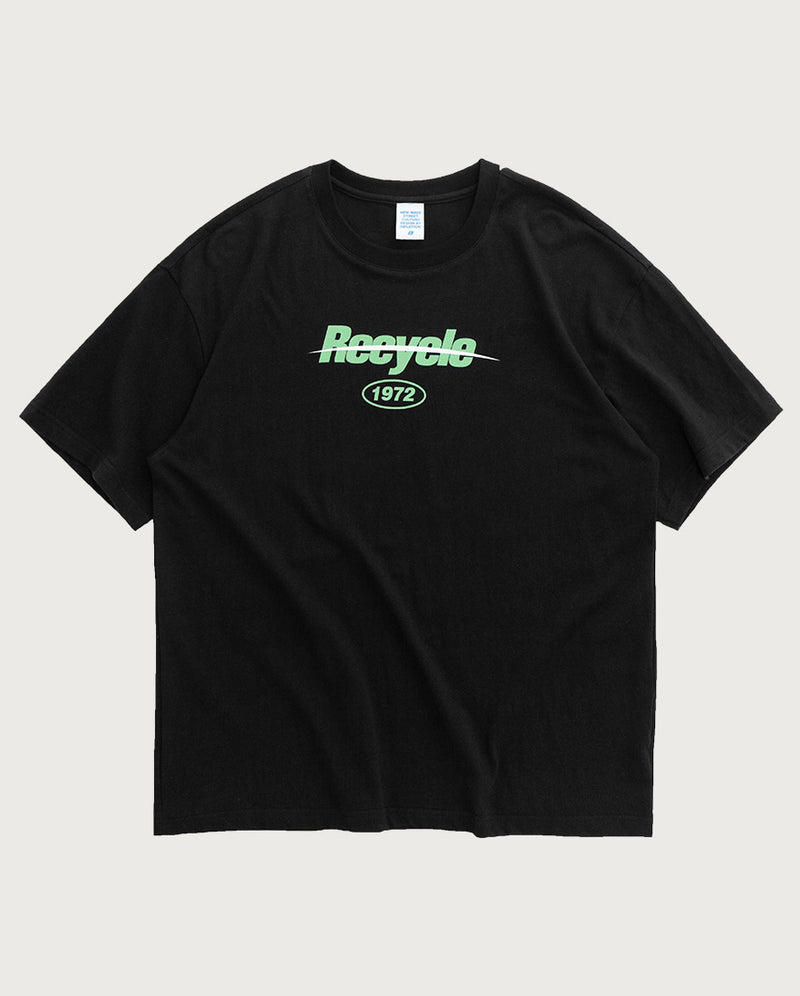Recyclable T-Shirt Schwarz