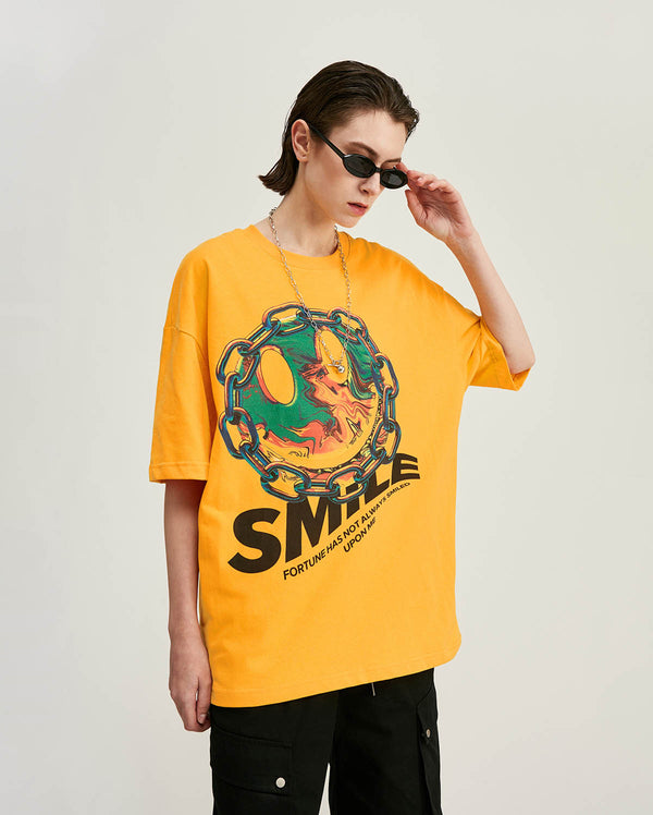 Smile T-Shirt Gelb