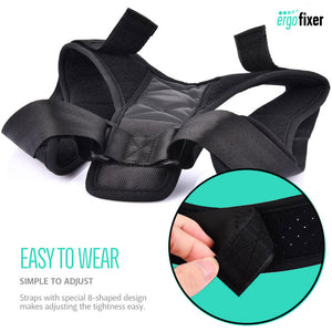 Ergofixer™ Adjustable Posture Corrector | For All Body Types