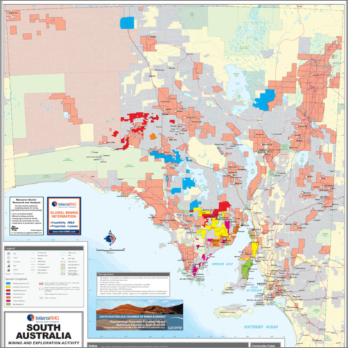 South Australia Mines and Minerals - 2013.
