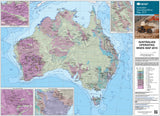 2018 - Australia Mines and Minerals Deposits Map