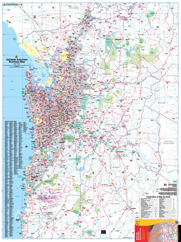 Businessmapsaustralia Capital City Business Maps of Brisbane