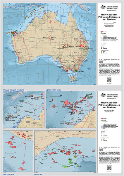 Australian Petroleum Resources & Pipelines - 2016
