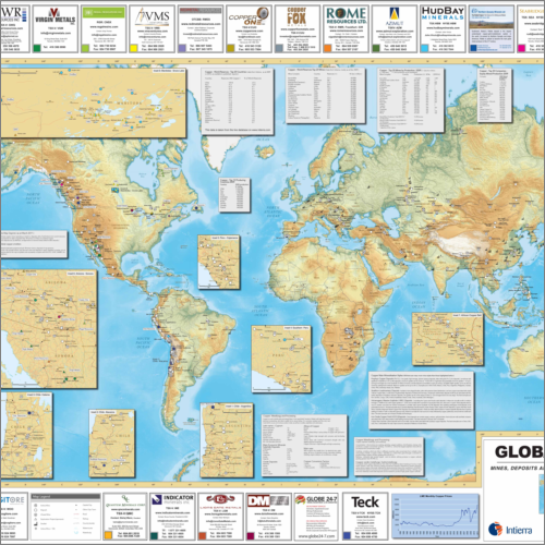 Global Copper Map - 2007