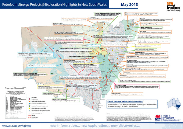 New South Wales - Petroleum and Energy Projects.