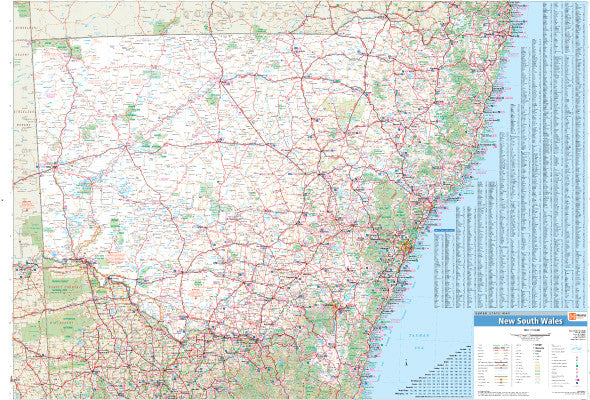 New South Wales Custom State Map