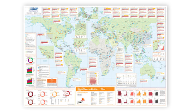 Global Renewable Energy Map - 2012.