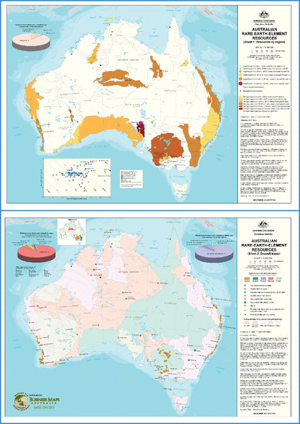 Rare Earth mines and deposits of Australia