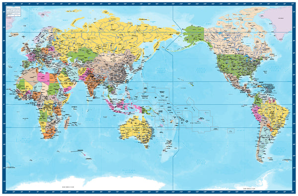 World Map Full Colour