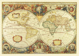 World - Antique Globes Wall Mural