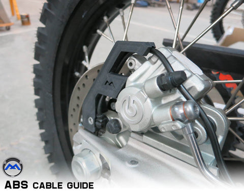 KTM 690 ABS Cable Guide