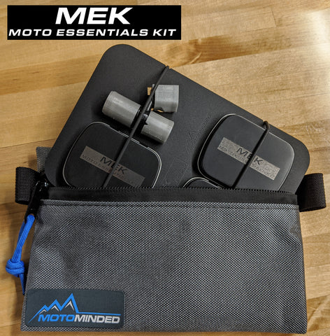 Trail Essentials Pouch with MEK - [Motorcycle Essentials Kit] insert